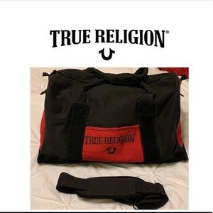 True religion duffel bag